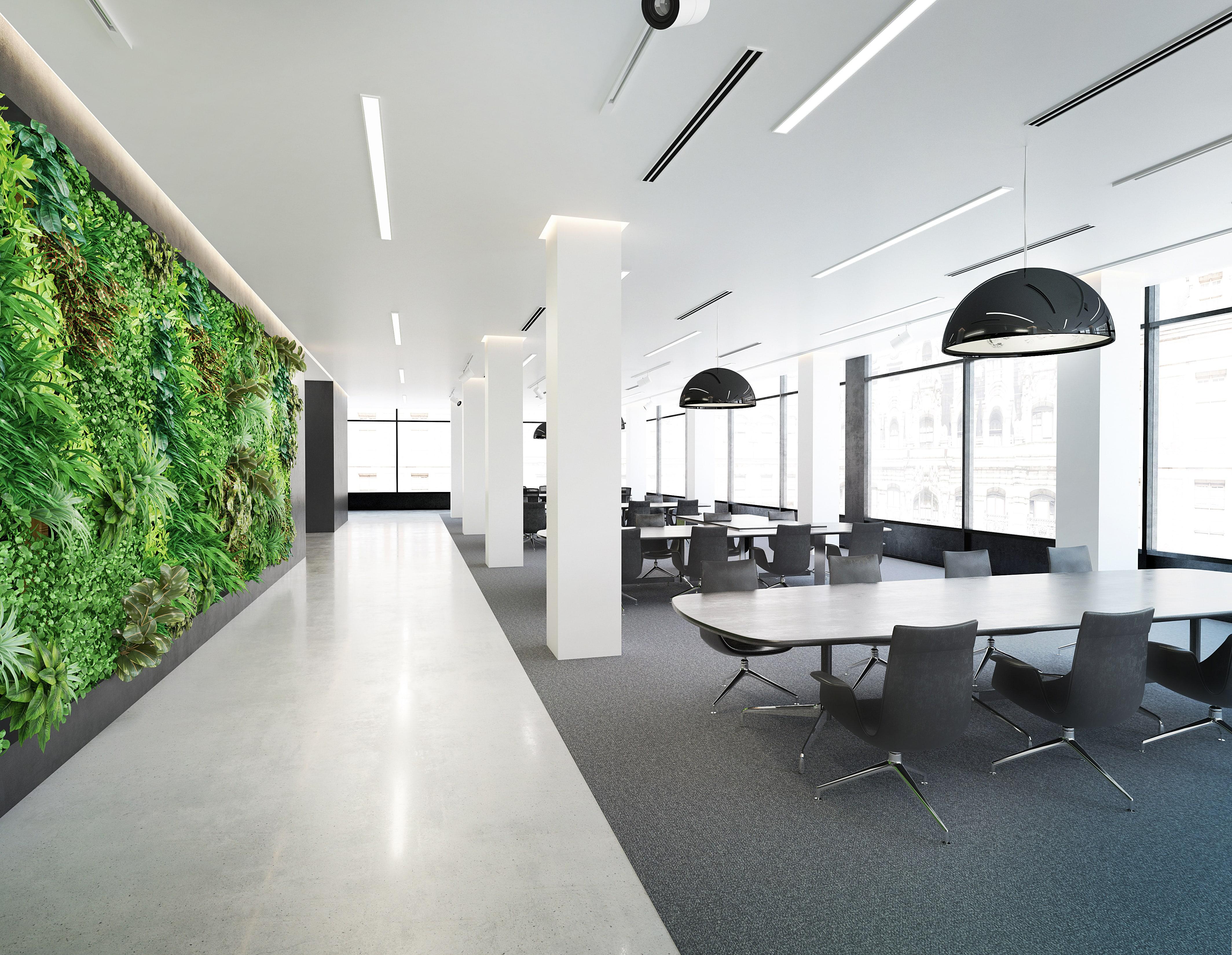 Green Wall - led lighting-