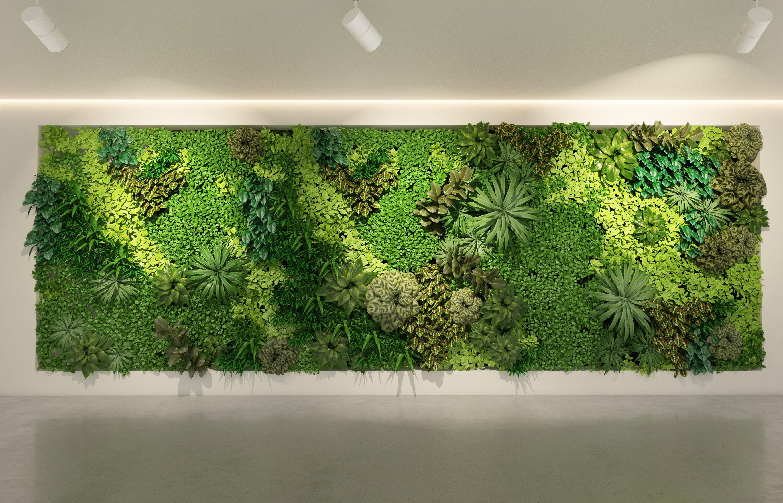 Green Wall - Led