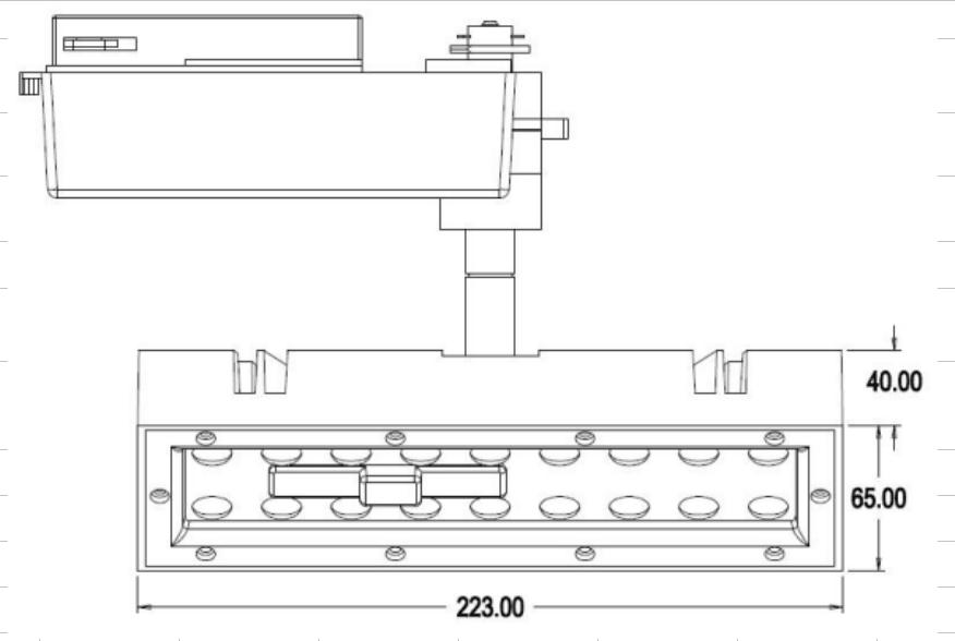 Technical drawing - CAPELLA T1 -min
